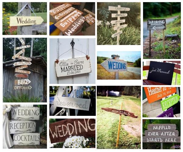 Wedding Signage Ideas: Event: Wedding Signage Ideas Part 1