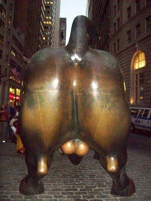 There is a superstition about the Wall St Bull that people believe in 64c756a23e2b9