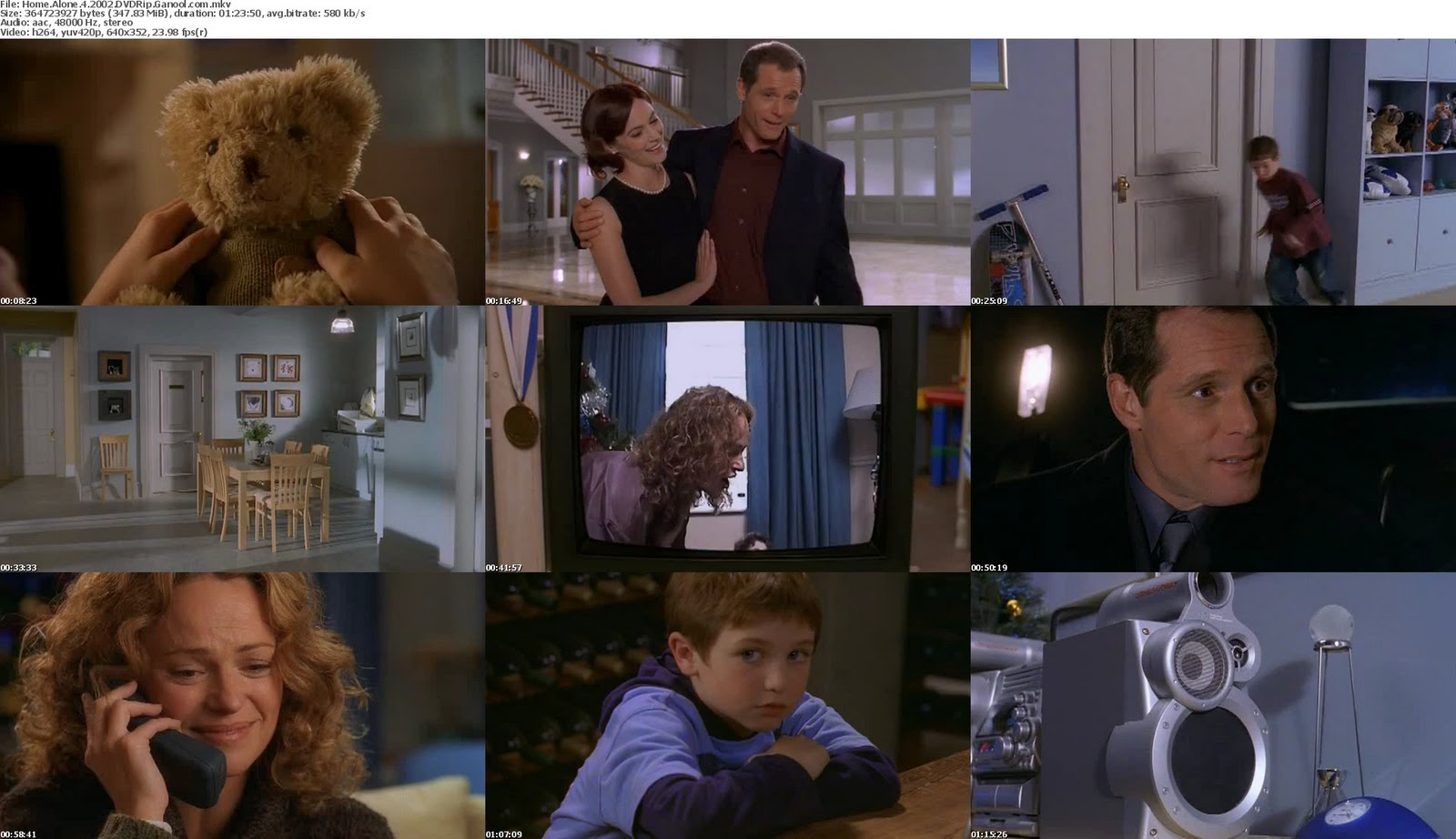 Home Alone 4 Taking Back the House is a 2002 American madefortelevision Christmas family comedy film directed by Rod Daniel which first aired on ABC on November 3