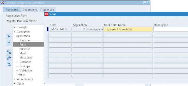 How to register the forms in oracle applications | AskHareesh Blog