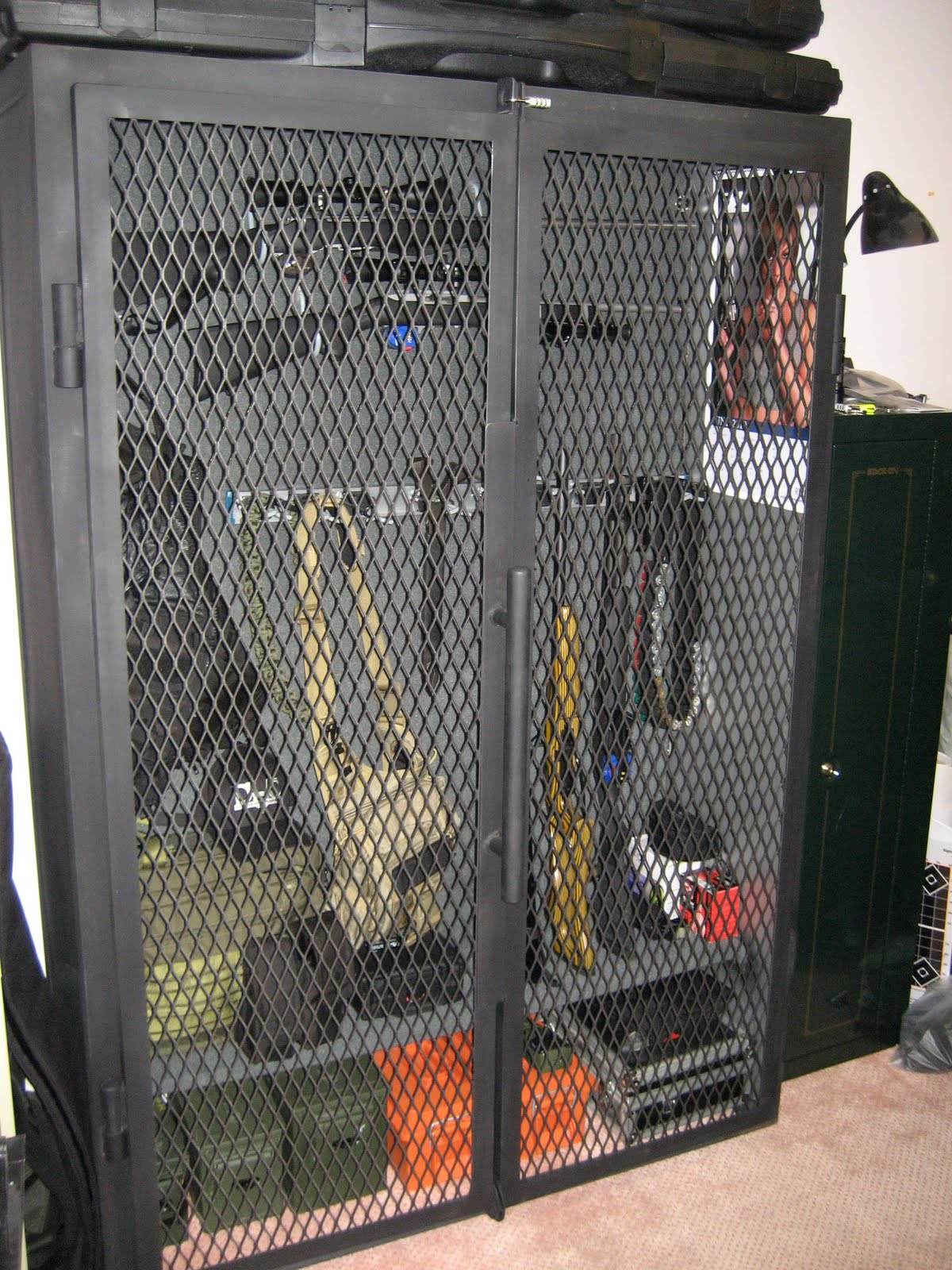 J1 Metal Fabrication Gun Cage