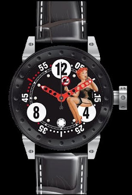 Montre BRM V6 pin-up