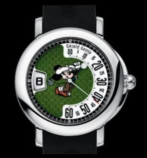 Montre Gérald Genta Mickey Golf