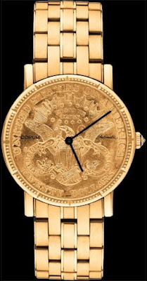 Montre Corum $20 Coin Watch