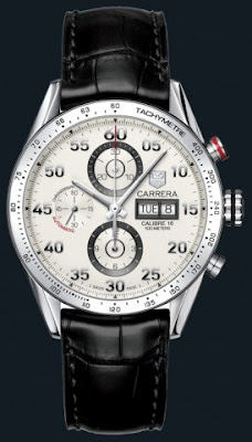 Montre Tag Heuer Carrera Chronographe automatique Day-date