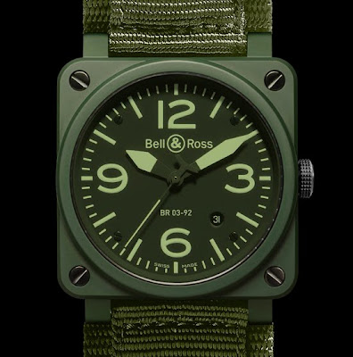 Montre Bell & Ross BR 03-92 Military Ceramic