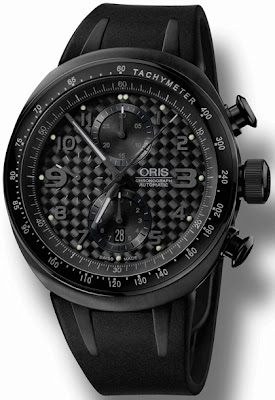 Montre Oris TT3 Full Black Chronograph