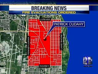 Freedom Eden Patrick Cudahy Fire Evacuation Area