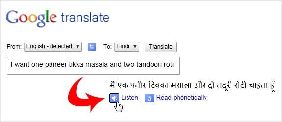 Google Translate English Into Hindi