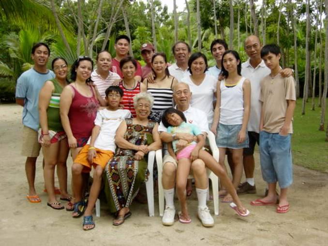 Filipino Family Portrait