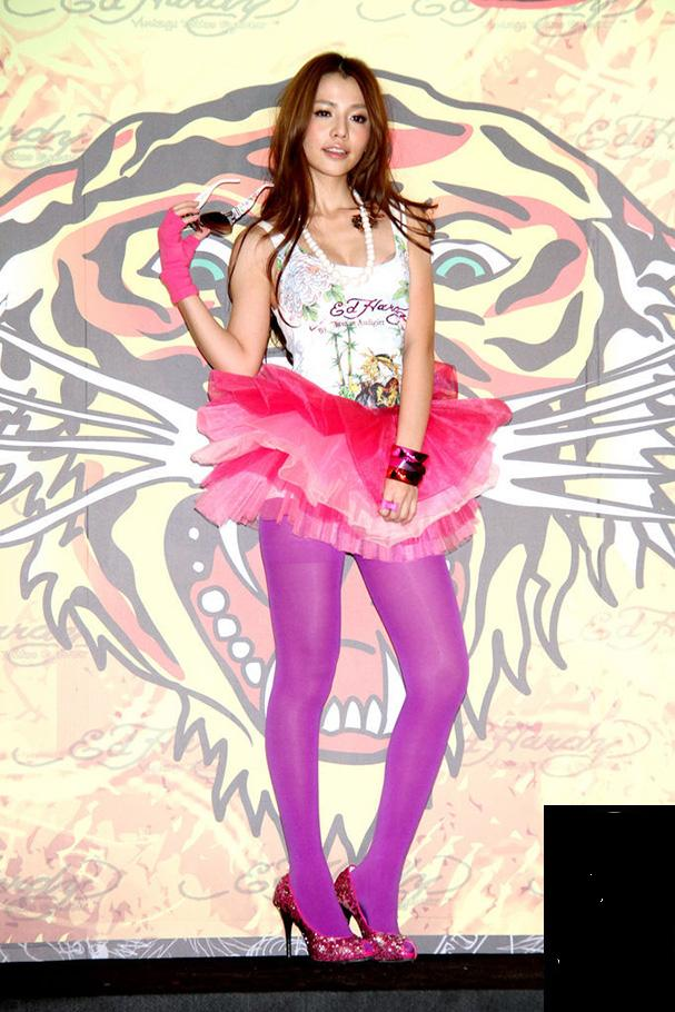 Asian Girl: Taiwan model: Tia Lin