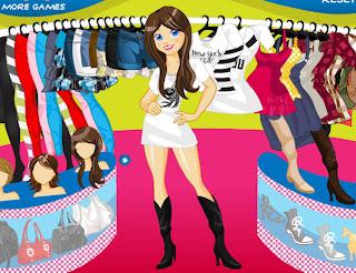 Juegos De Vestir Y Moda Juego Para Vestir A La Chica Moderna