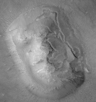 Giant Face on Mars enlarge