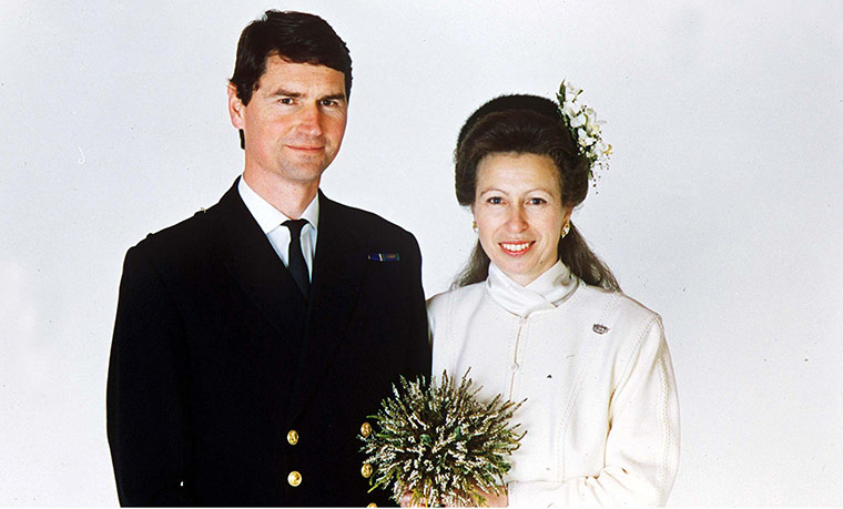 Princess Anne Wedding Dress Pictures : Here the princess royal can be seen marrying help because she
