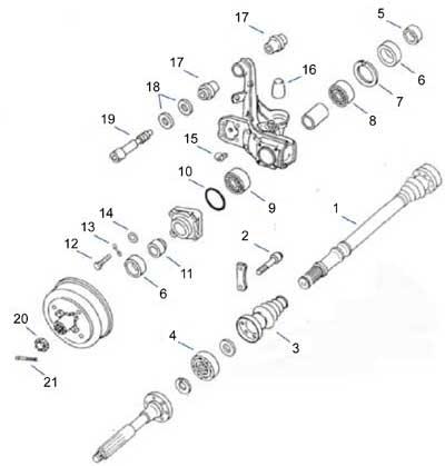 Vw Irs Suspension Diagram VW Bug Pedal Assembly Diagram
