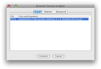 The Tech Lab: Use JConsole with ActiveMQ for a quick JMS test client