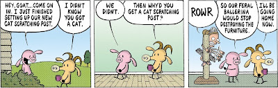Stephan Pastis, Pearls Before Swine, Feral Ballerina