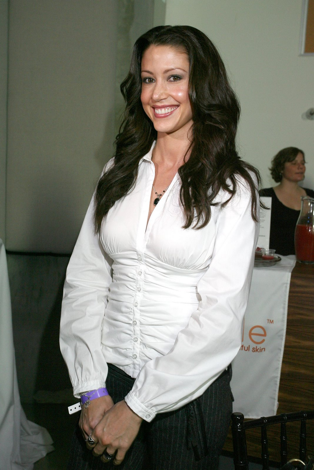 Ladies In Satin Blouses Shannon Elizabeth Various Blouses