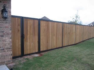 Urban Ironcraft Iron Cedar Fence