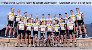 Equipo de ciclismo Topsport Vlaanderen – Mercator del 12.- 23.Enero en Calpe, Mario Schumacher Blog