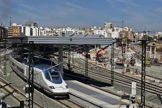 AVE ha llegado a Valencia y en 6 horas de España a Paris, Mario Schumacher Blog