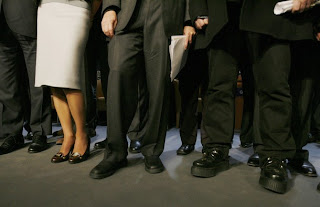 Davos shoes, Bono, Bill Gates y Rania
