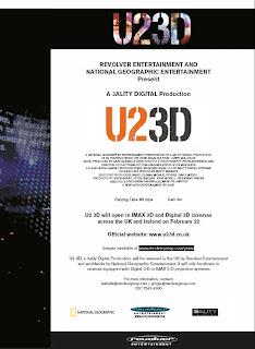 U2 3d Press UK 2