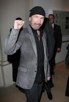 The Edge en los GQ Awards (Londres)