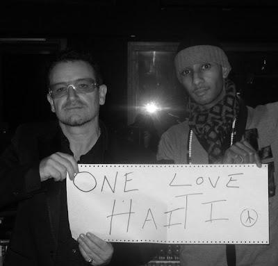 One Love Haiti, Bono