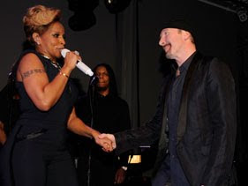 Mary J. Blige y The Edge