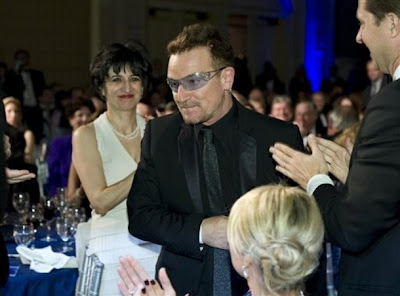 Bono 2010 Atlantic Council Humanitarian Leadership Award 1