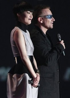 Bono en los premios MTV VIDEO Japon 2008