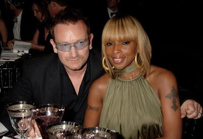 Bono y may j. Blige