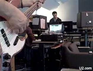Adam en el estudio de Dublin