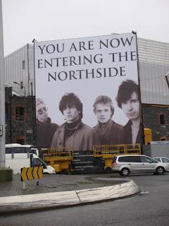 Cartel de U2 en Dublin