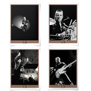 Litografia U2 Vertigo Tour Live