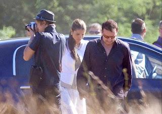 Bono y Rania de Jordania en Francia