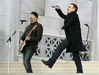 Fotos de U2 en el concierto We Are One 4