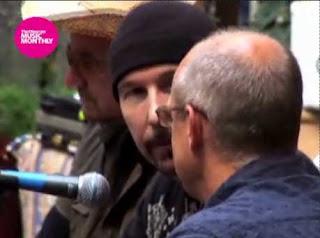The Observer: video de U2 durante la grabacion de No Line On the Horizon 2