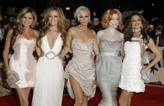 Girls Aloud en los Brit Awards 2009