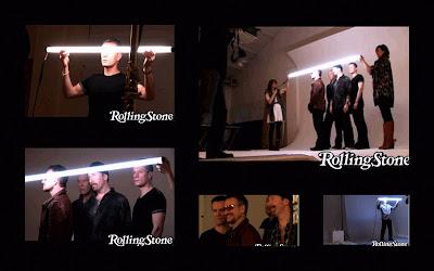 U2 Sesion de fotos para Rolling Stone