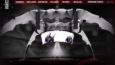 escenario de la nueva gira de U2 3