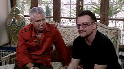 Bono y Adam Clayton en Fez