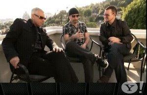 U2. Entrevista en Yahoo music