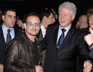 Bono en la fiesta de Vanity Fair, Tribeca Film Festival 2009 4