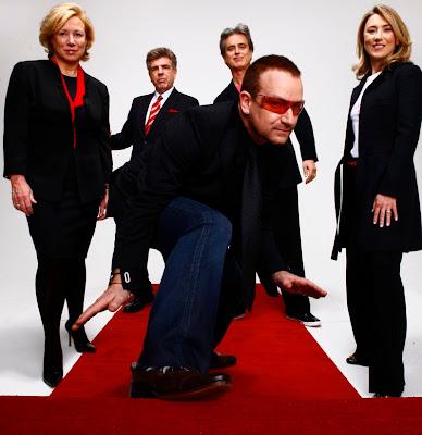 Bono y el equipo de RED