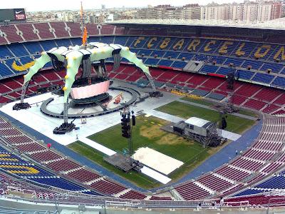 escenario u2 360 tour
