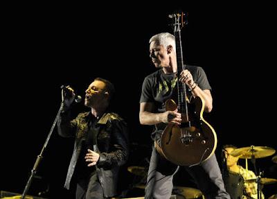 Fotos de U2 ensayando en Barcelona para U2 360 Tour 3