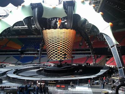 U2 360 Tour Amsterdam Arena