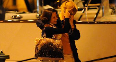 Adam Clayton y su novia en Dubrovnik 2